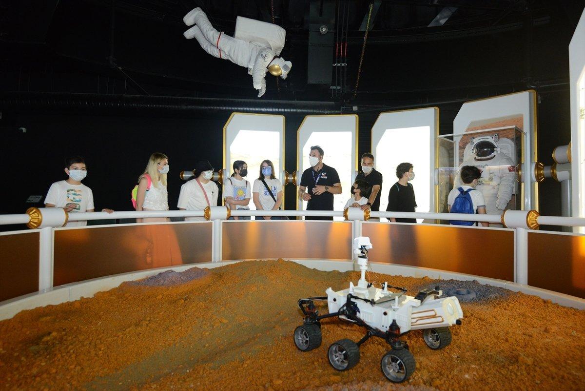 Gökmen Uzay Havacılık Eğitim Merkezi, ziyaretçilerini ağırlıyor #7