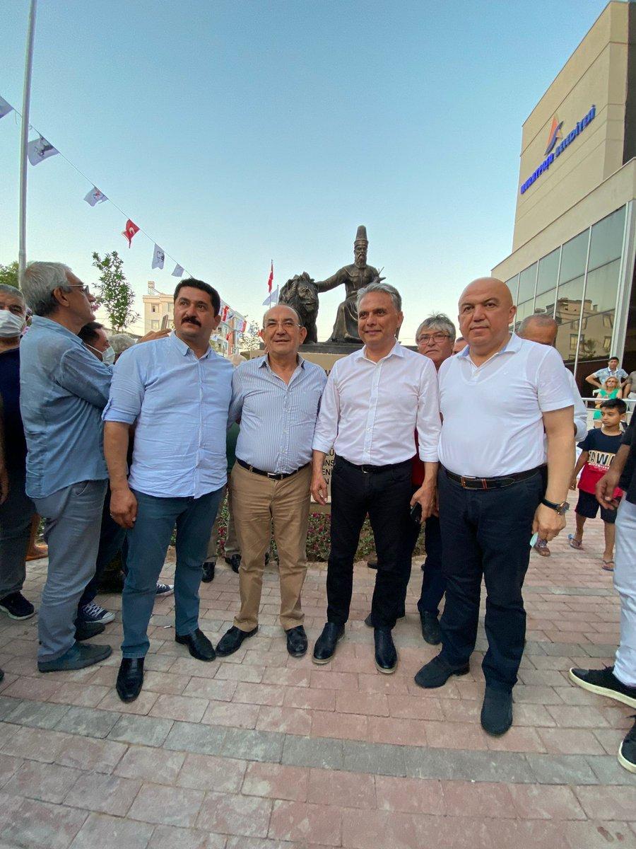 CHP li Muratpaşa Belediyesi nden Hacı Bektaş Veli heykeli  #3