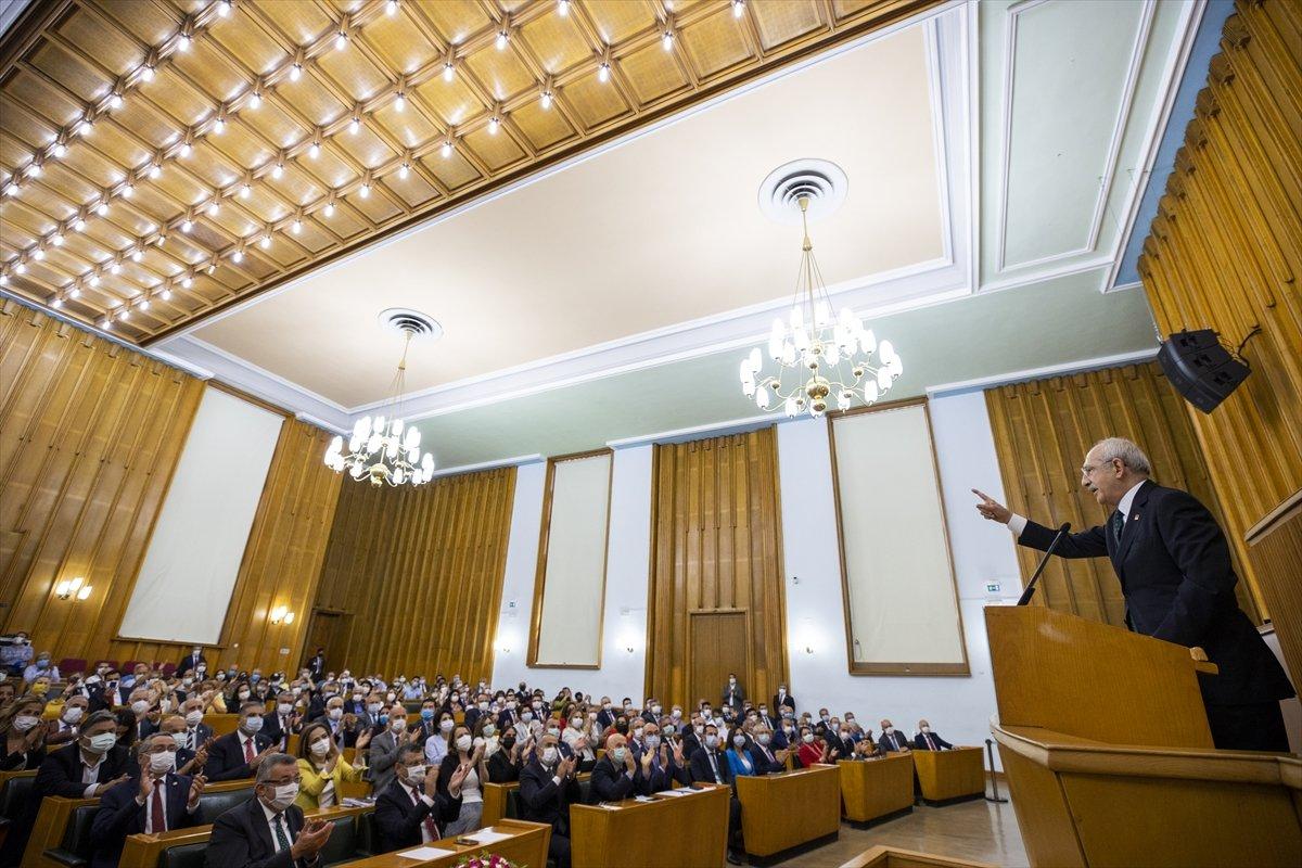 Kemal Kılıçdaroğlu nun dokunulmazlık fezlekesi Meclis te #2