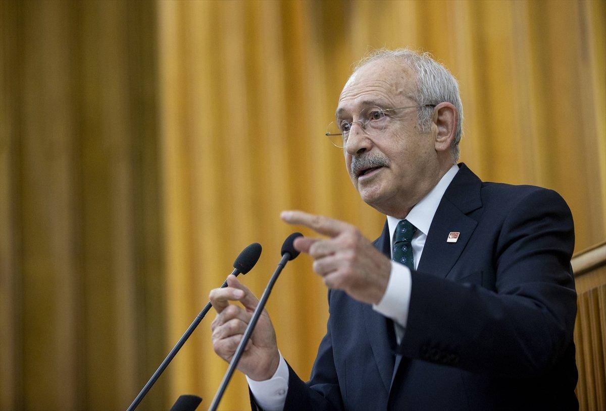 Kemal Kılıçdaroğlu nun dokunulmazlık fezlekesi Meclis te #1