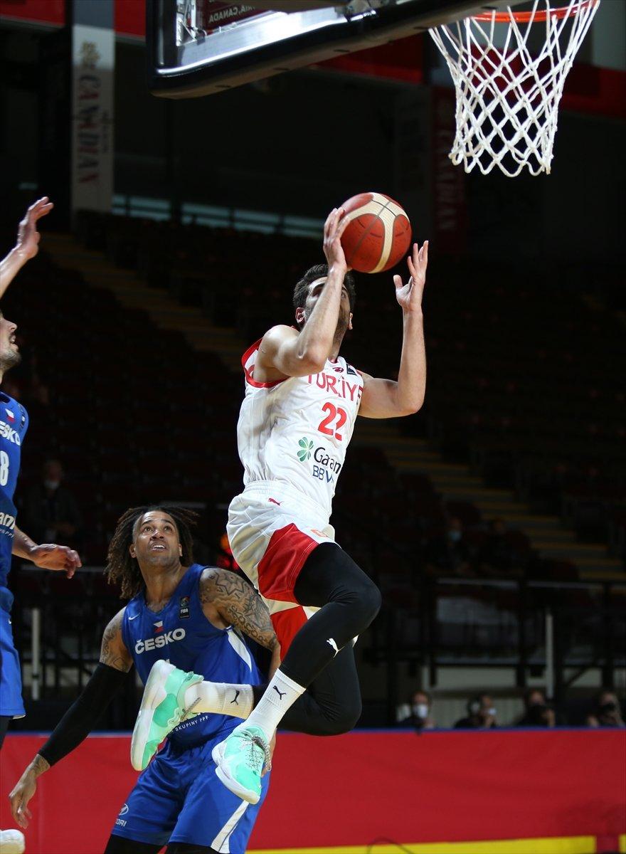 Türkiye FIBA Olimpiyat Elemeleri nde Çekya yı yendi #6