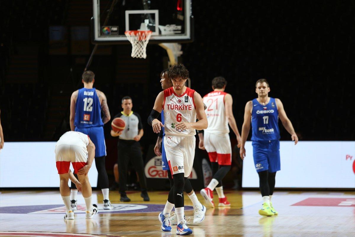 Türkiye FIBA Olimpiyat Elemeleri nde Çekya yı yendi #1