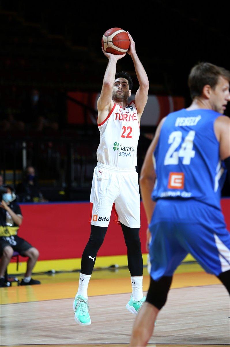 Türkiye FIBA Olimpiyat Elemeleri nde Çekya yı yendi #3