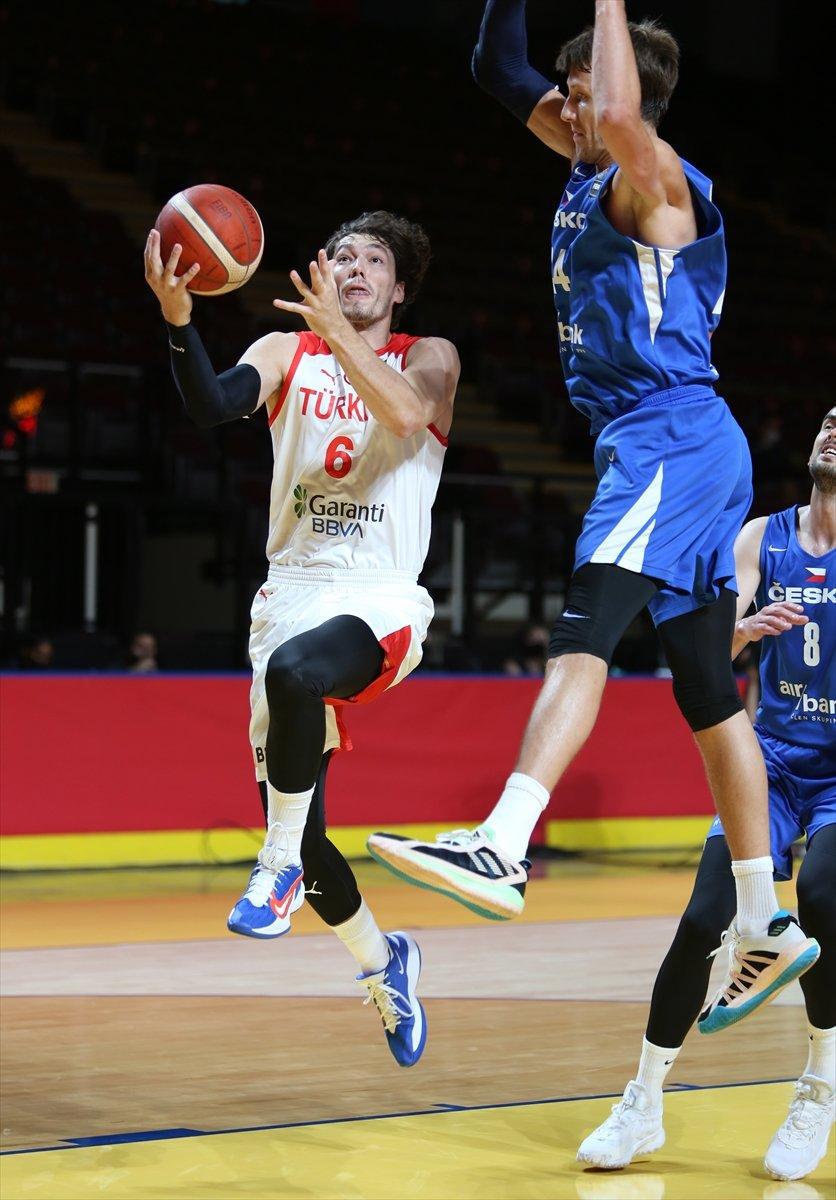 Türkiye FIBA Olimpiyat Elemeleri nde Çekya yı yendi #4