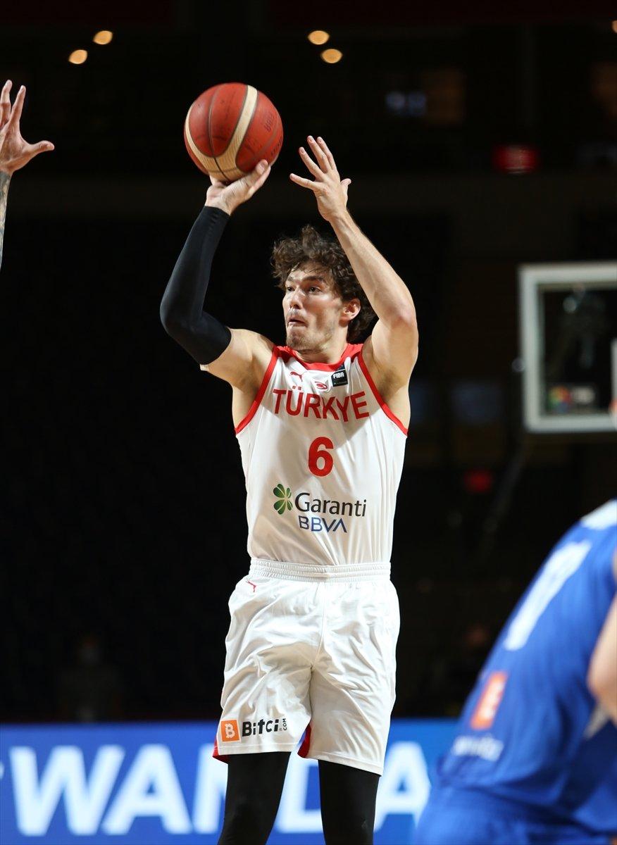 Türkiye FIBA Olimpiyat Elemeleri nde Çekya yı yendi #5