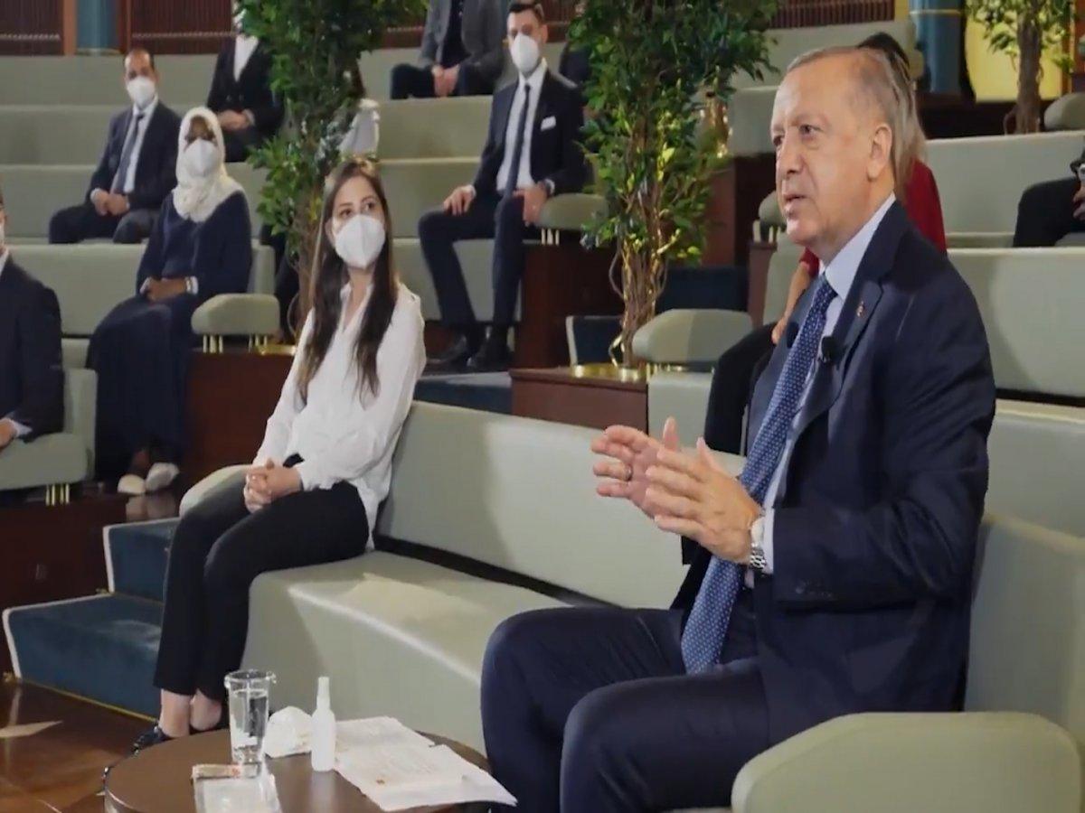 Cumhurbaşkanı Erdoğan Kanal İstanbul un önemini anlattı #2