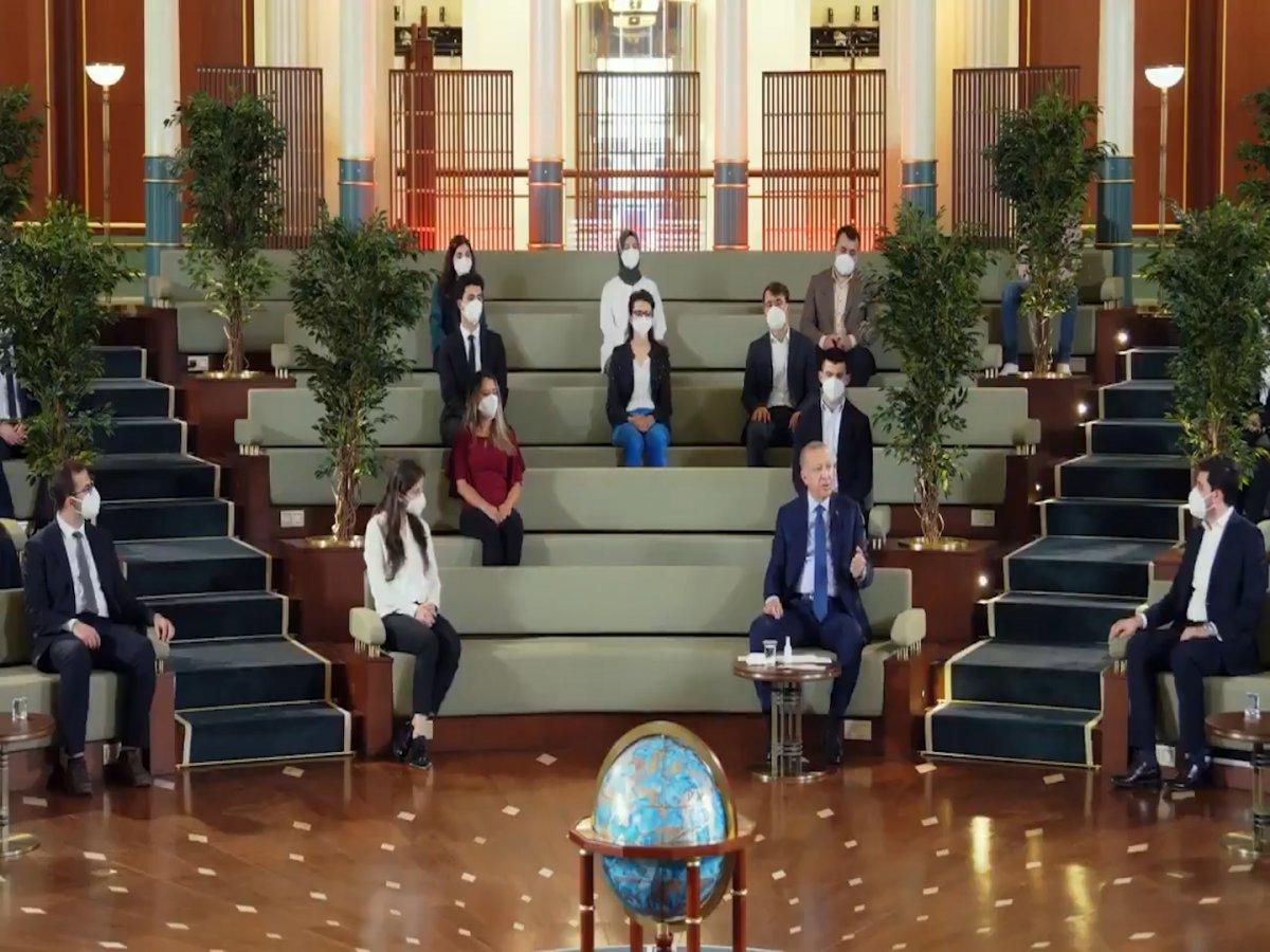Cumhurbaşkanı Erdoğan Kanal İstanbul un önemini anlattı #4