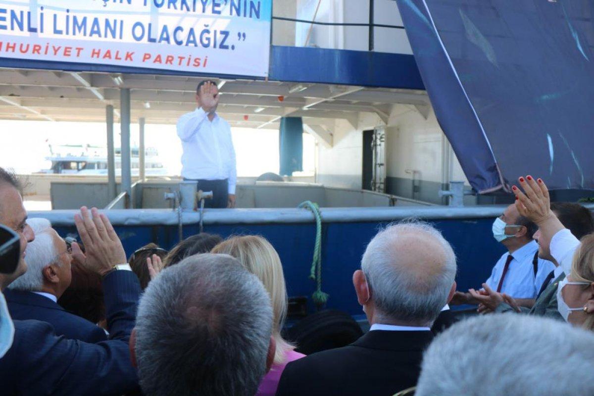 CHP gemisi sahilleri dolaşarak seçmeni dinleyecek #1