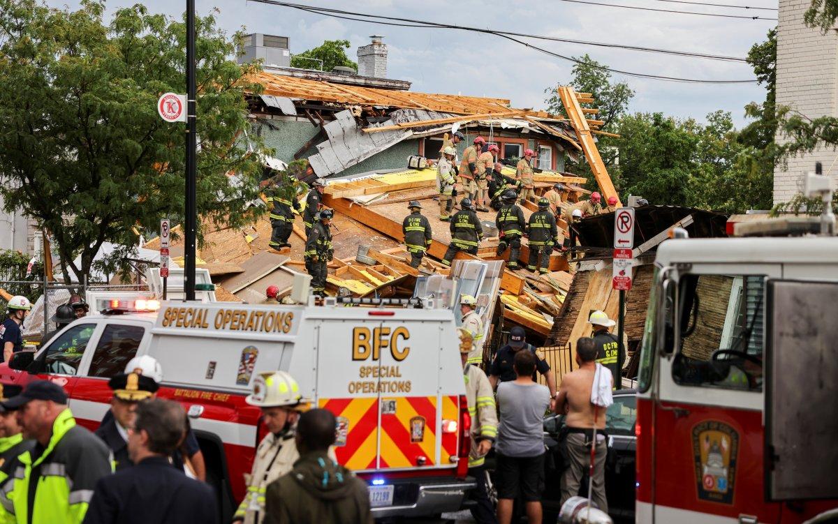 ABD de inşaat halindeki bina çöktü: Çok sayıda yaralı var #3