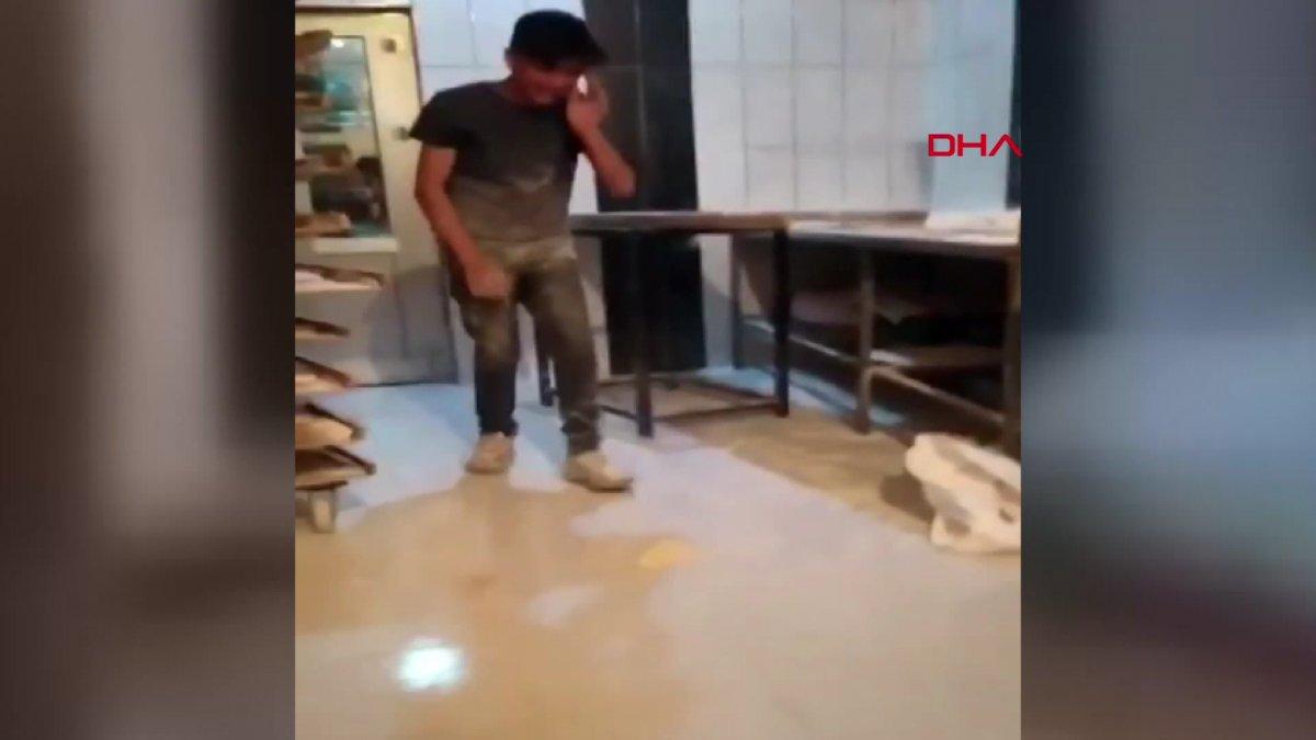 Van da ekmek hamuruyla top gibi oynayan fırın çalışanı serbest bırakıldı #7