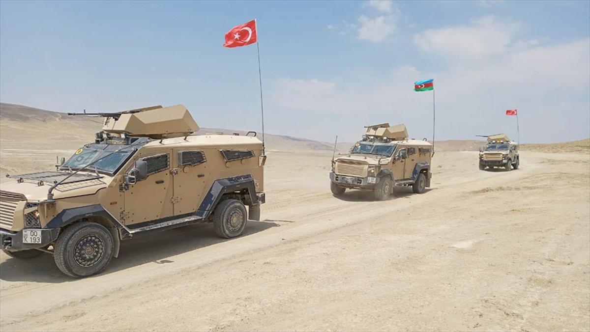 Türkiye ve Azerbaycan dan askeri tatbikat #1
