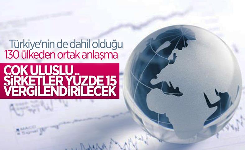Türkiye dahil 130 ülke küresel vergi anlaşmasına katıldı