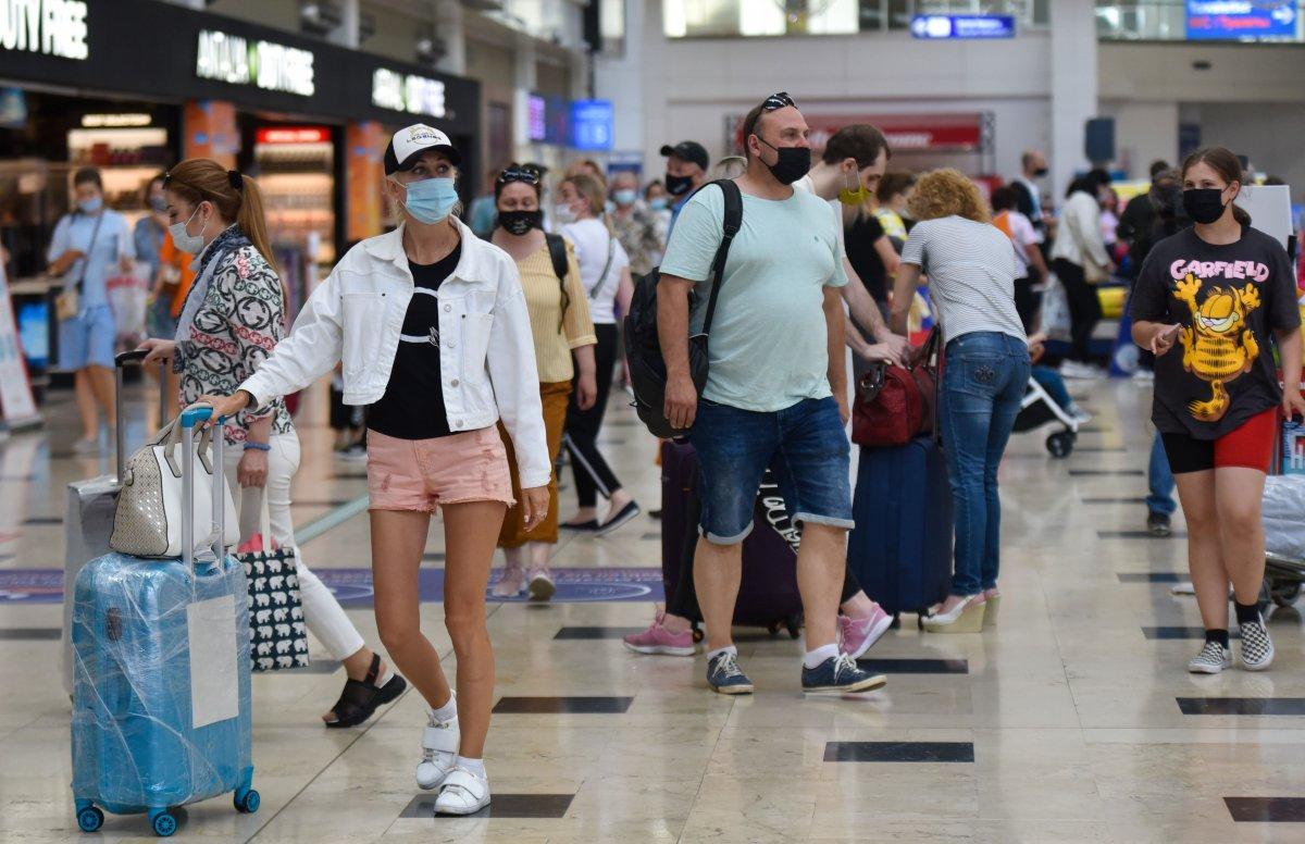 Antalya, turist akınına uğruyor #3