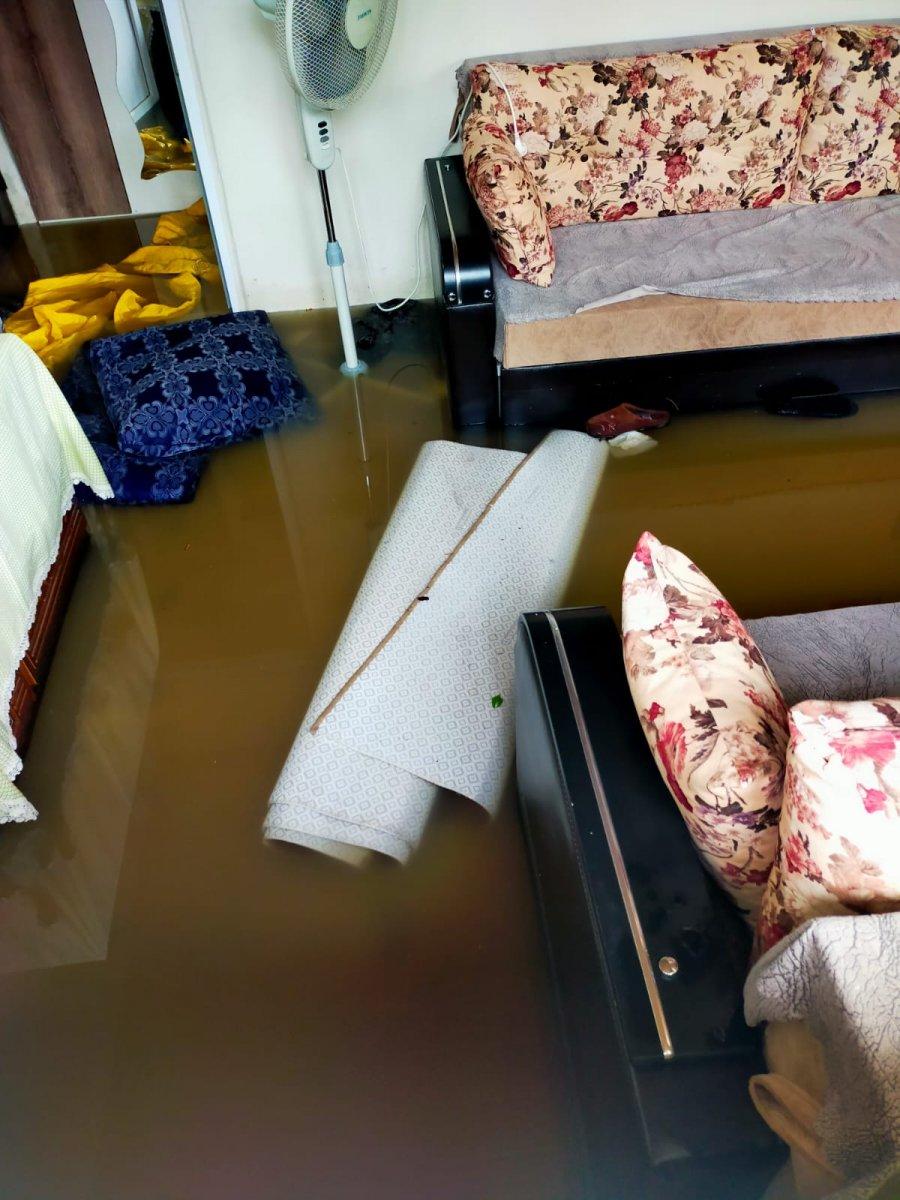Bursa da sağanak sele sebep oldu #2