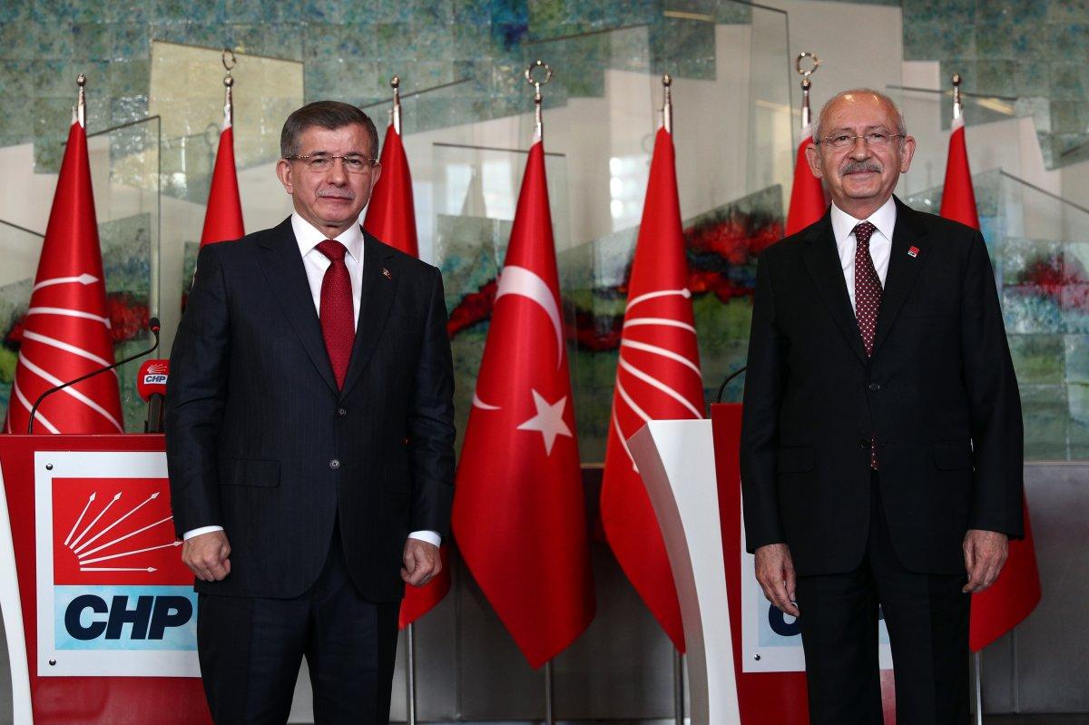 Ahmet Davutoğlu, CHP nin Kanal İstanbul tehdidini tekrarladı #1