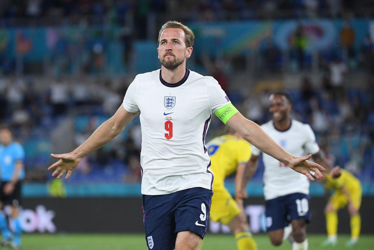 EURO 2020 de Ukrayna yı eleyen İngiltere yarı finalde #1