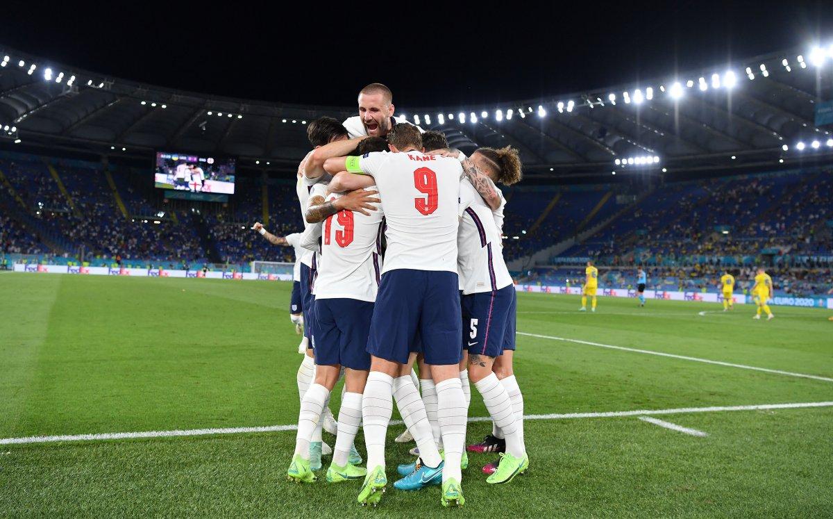 EURO 2020 de Ukrayna yı eleyen İngiltere yarı finalde #4