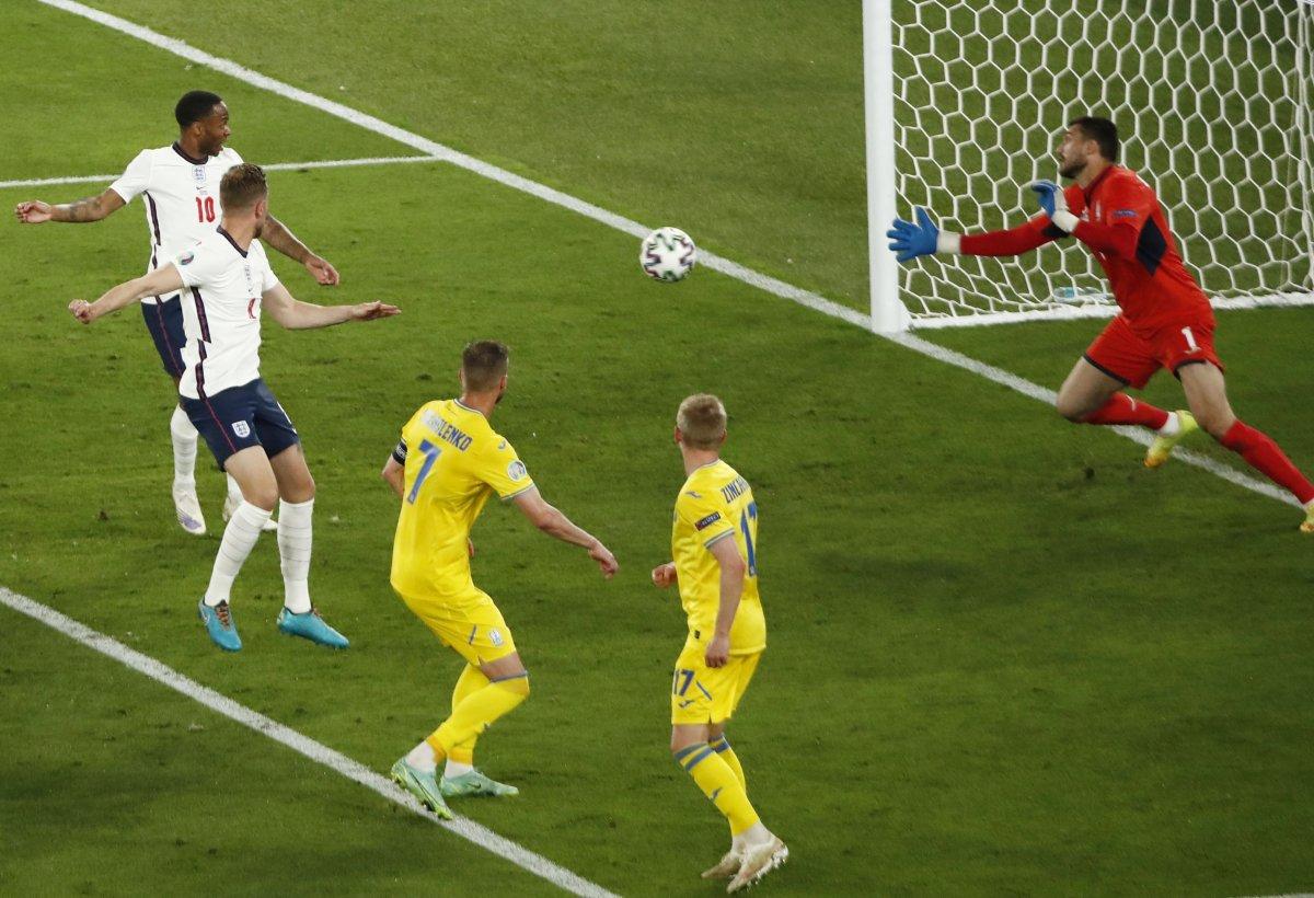 EURO 2020 de Ukrayna yı eleyen İngiltere yarı finalde #2