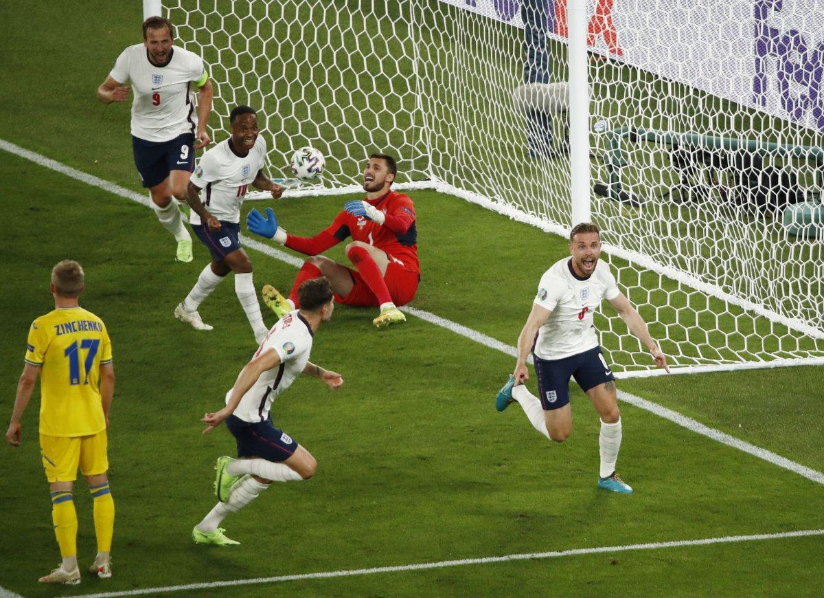 EURO 2020 de Ukrayna yı eleyen İngiltere yarı finalde #3