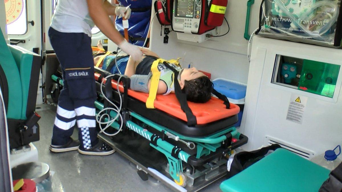 Çekmeköy de zincirleme kaza: 5 yaralı  #5