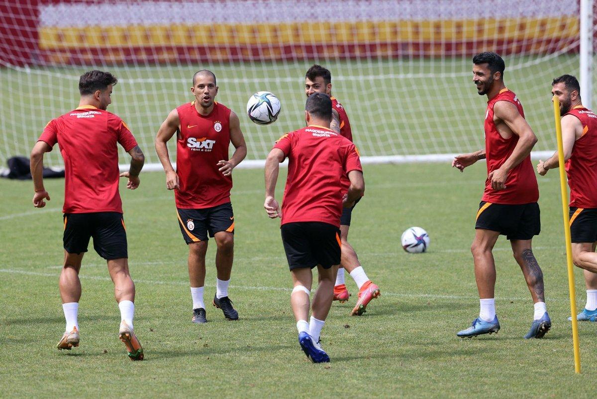 Galatasaray da antrenmanların yıldızı Falcao #1