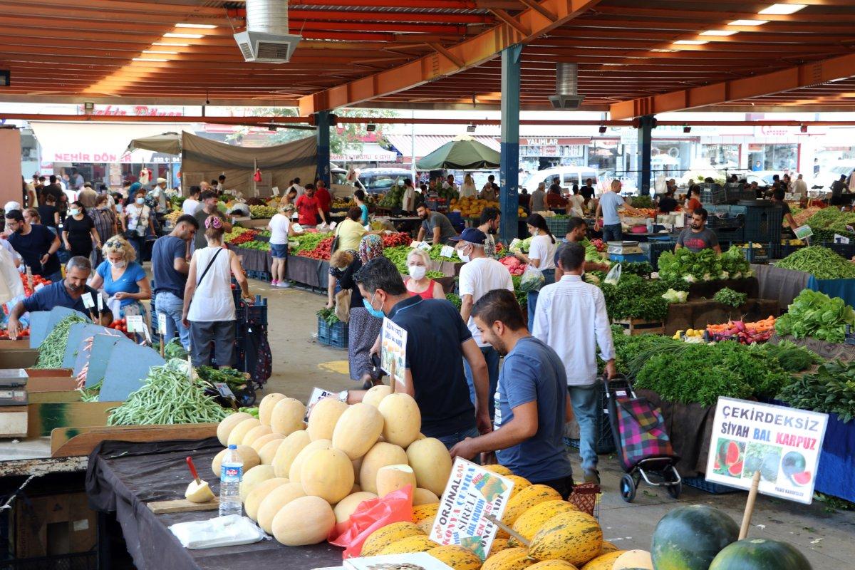 Adana da sıcaklık 40 derece: Meyve ve sebzeler zarar gördü  #9
