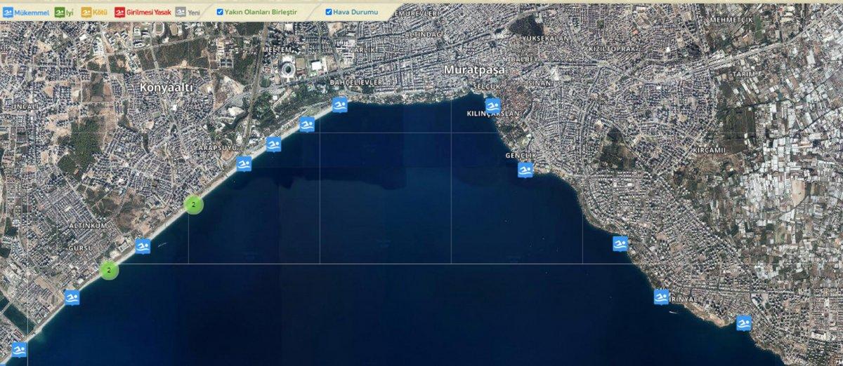Su kalitesi ölçümlerinde Antalya nın sahilleri liste birincisi  #1