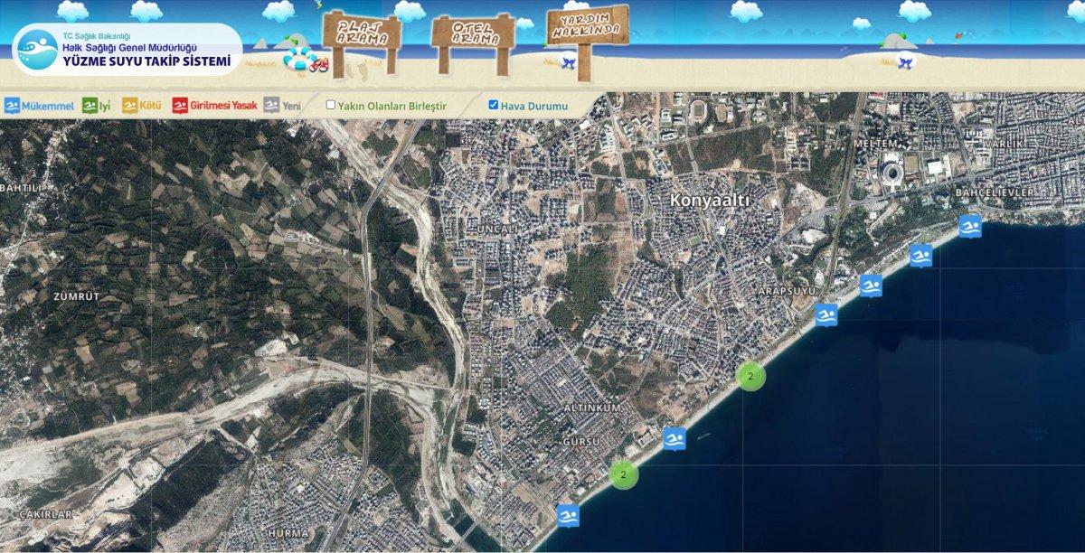 Su kalitesi ölçümlerinde Antalya nın sahilleri liste birincisi  #2
