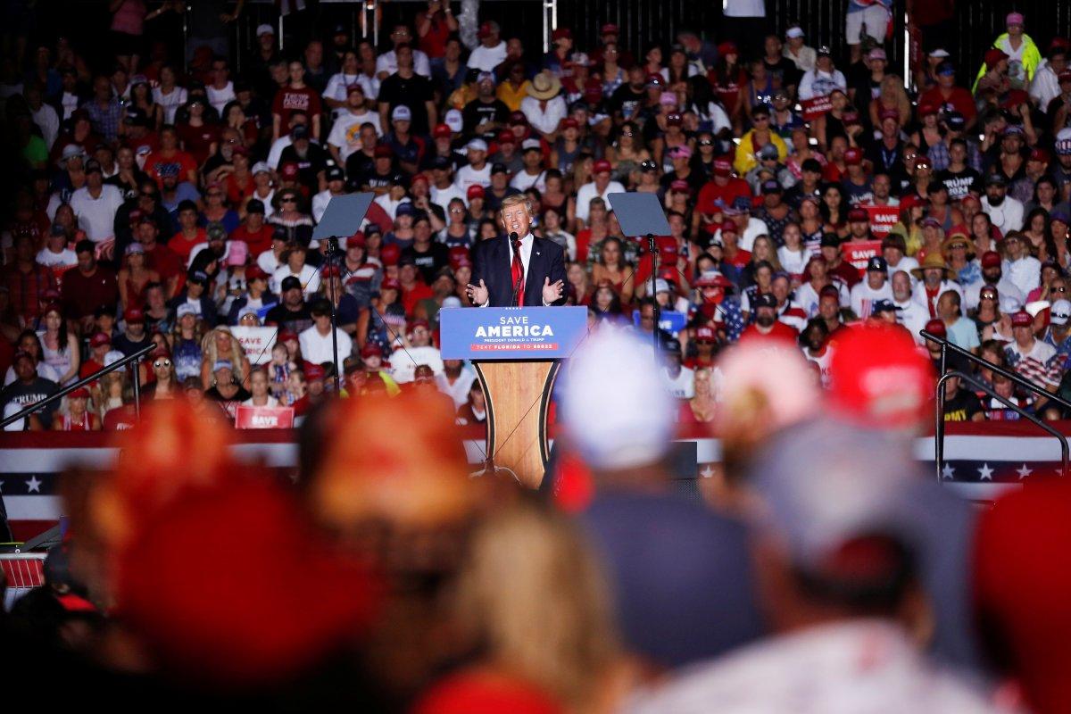 Donald Trump, Florida da destekçilerine seslendi #2