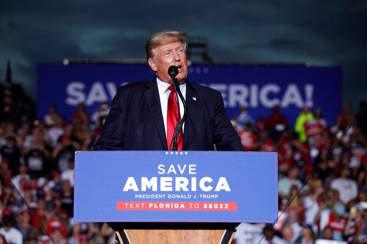 Donald Trump, Florida da destekçilerine seslendi #1