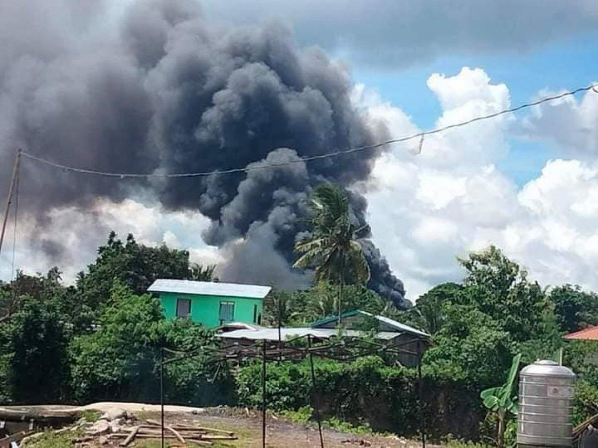 Filipinler de askeri uçak düştü #1