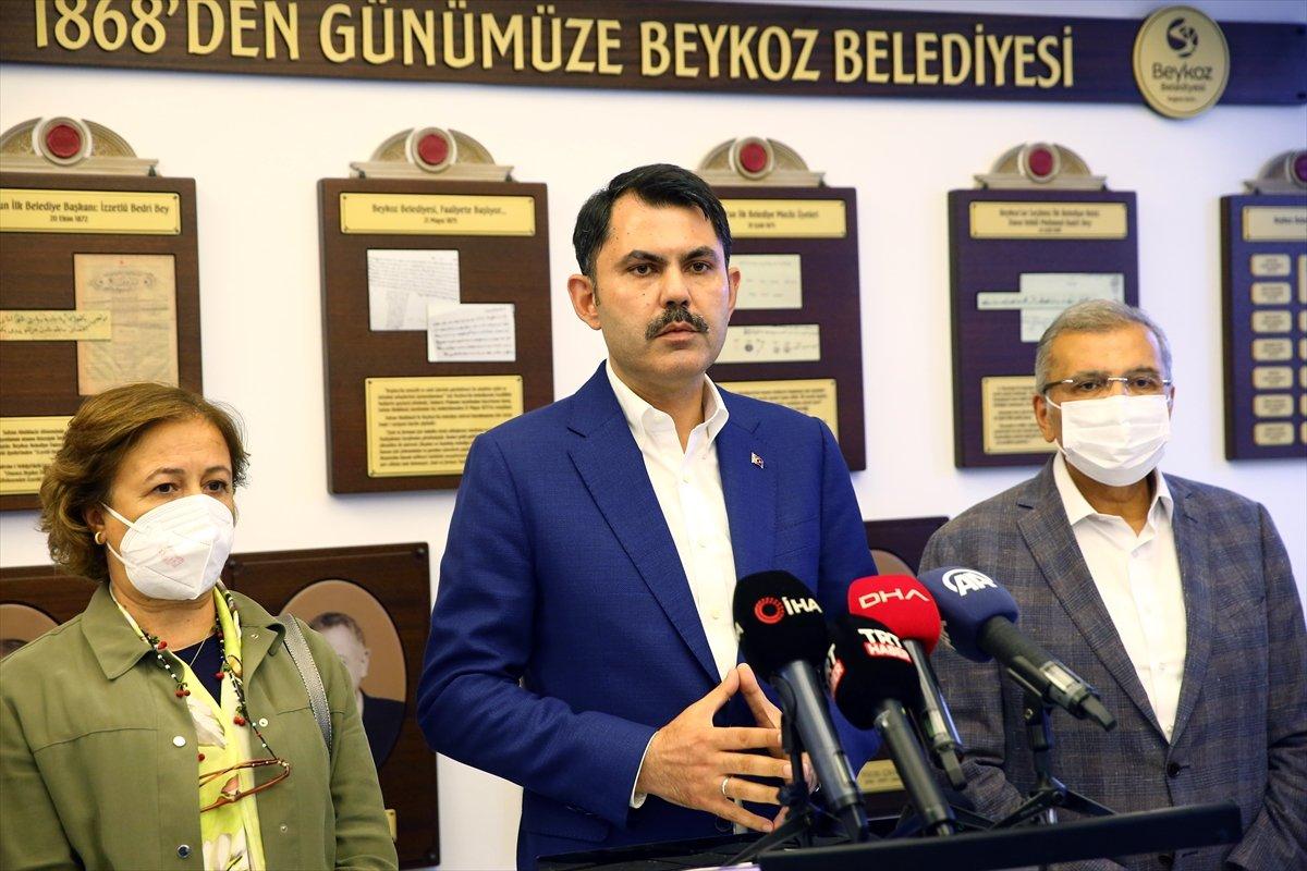 Murat Kurum: Marmara Denizi'ni en kısa zamanda eski haline getireceğiz #1