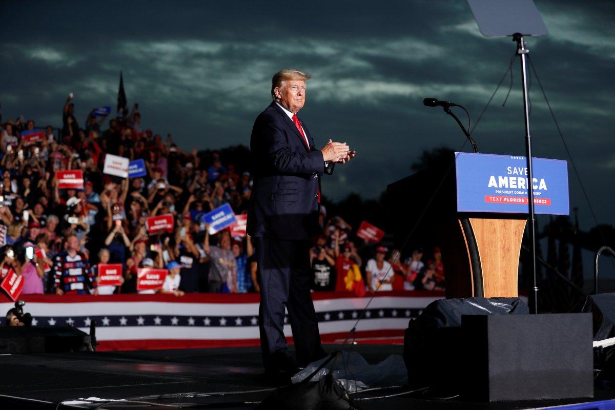 Donald Trump, Florida da destekçilerine seslendi #4
