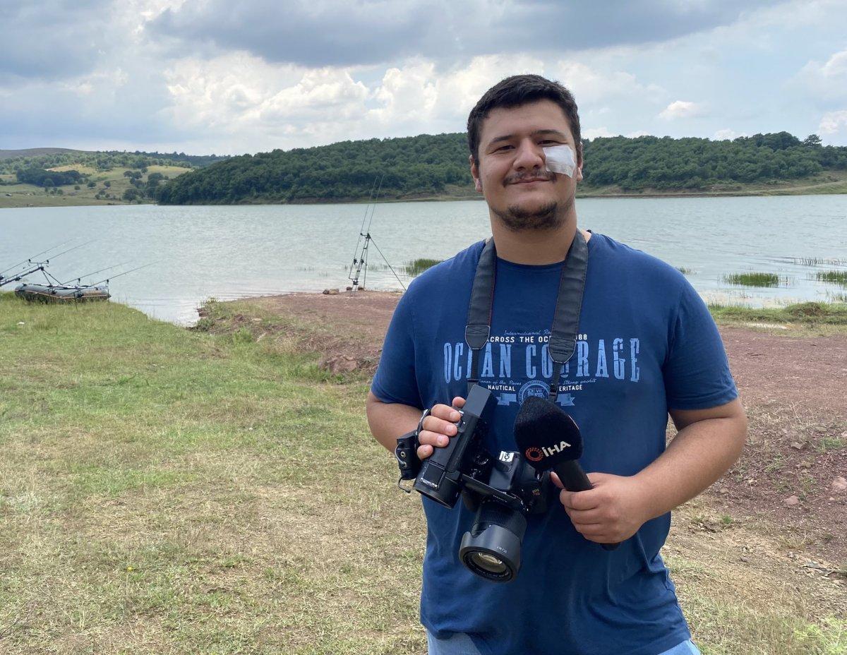 Saldırıya uğrayan İHA muhabiri Mustafa Uslu, görevinin başına döndü  #3