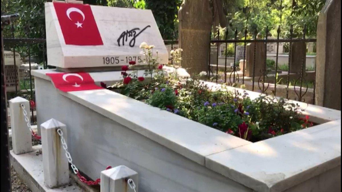 Hüseyin Nihal Atsız'ın mezarına saldırı #4