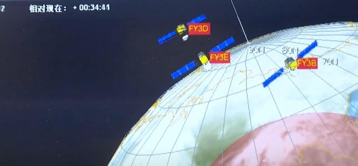 Çin, yeni meteoroloji uydusunu uzaya gönderdi #3