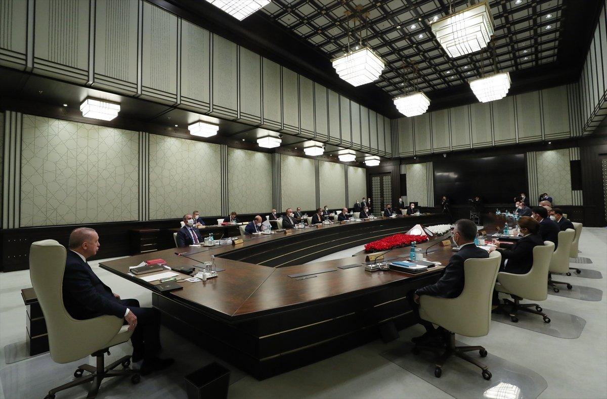 Külliye de Cumhurbaşkanlığı Kabinesi toplantısı #2