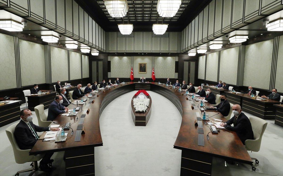 Külliye de Cumhurbaşkanlığı Kabinesi toplantısı #4