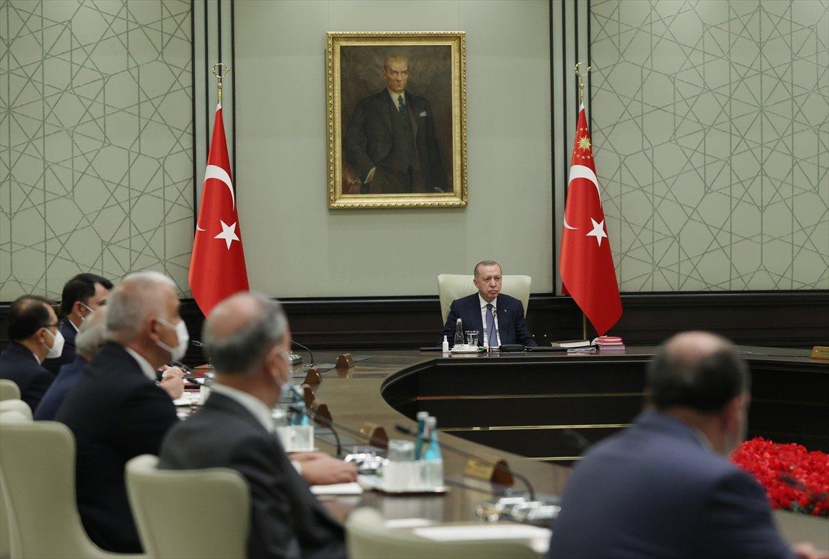 Külliye de Cumhurbaşkanlığı Kabinesi toplantısı #3