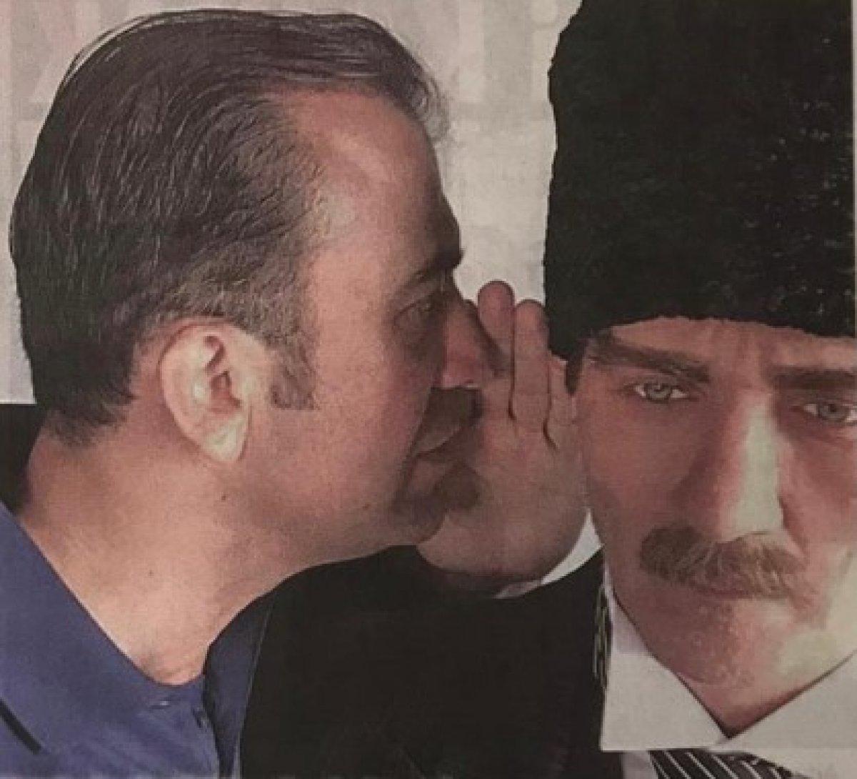 DEVA Partisi nde Atatürk portresi kavgası #1