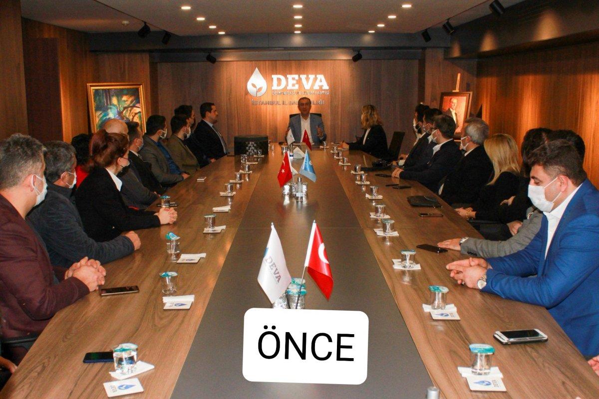 DEVA Partisi nde Atatürk portresi kavgası #2