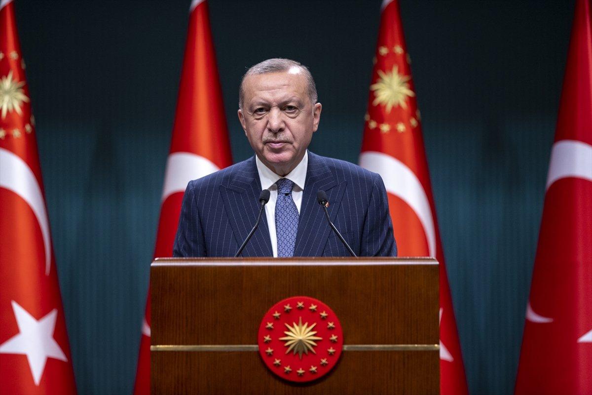 Cumhurbaşkanı Erdoğan dan Kabine toplantısı sonrası açıklama #3