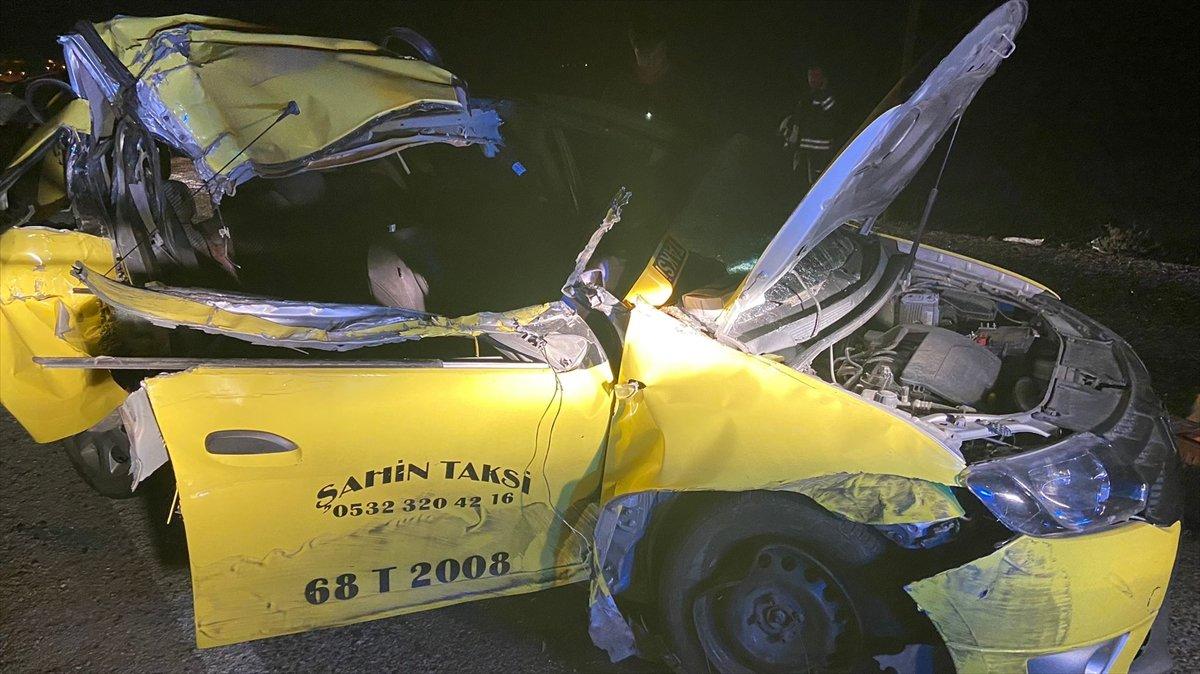 Aksaray da trafik kazası: 1 ölü, 2 yaralı #2