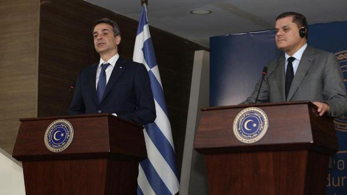 Libya ile Yunanistan arasında görüşme #1