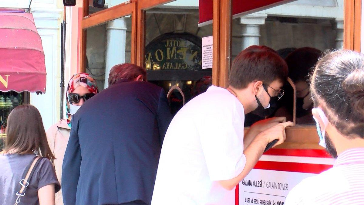 Galata Kulesi'nde artan bilet fiyatlarına ilişkin açıklama #6