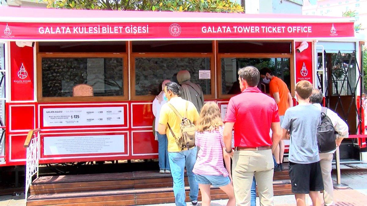 Galata Kulesi'nde artan bilet fiyatlarına ilişkin açıklama #5