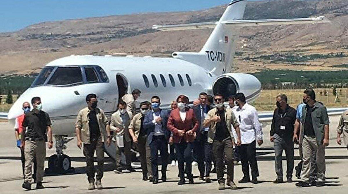 Meral Akşener in  özel uçak kullanmam  açıklaması #1