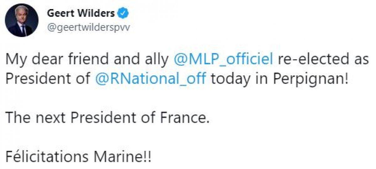 Marine Le Pen, yeniden Ulusal Birlik in liderliğine seçildi #2