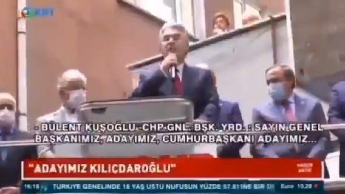 Bülent Kuşoğlu, CHP nin Cumhurbaşkanı adayını açıkladı #2