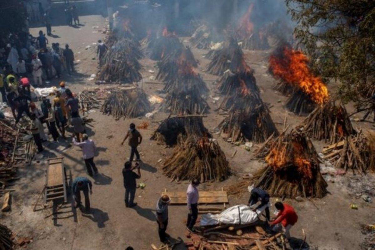 Hindistan da koronavirüsten ölenlerin küllerinden park yapılacak #1